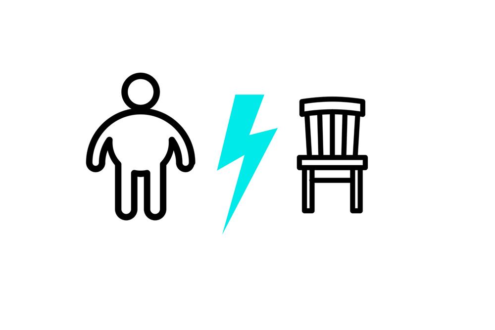 Sobrepeso vs sedentarismo